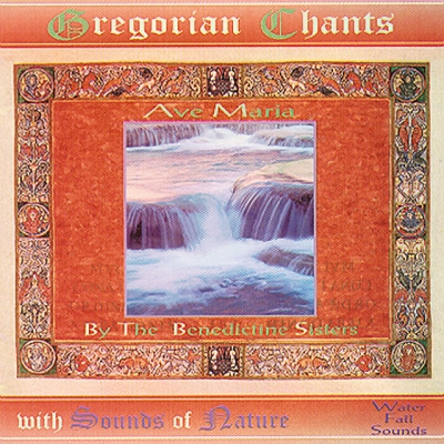 Invincible Music & Herbs: Gregorian Chant Ave Maria With Stream Sounds