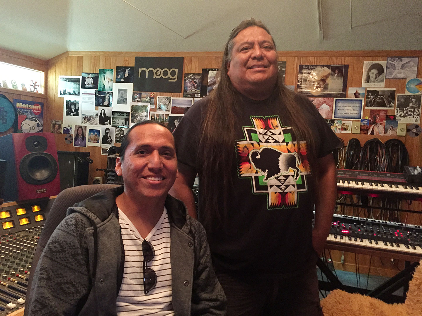 Invincible Recordings Studio Phoenix Tony-Duncan with Lowery Begay image